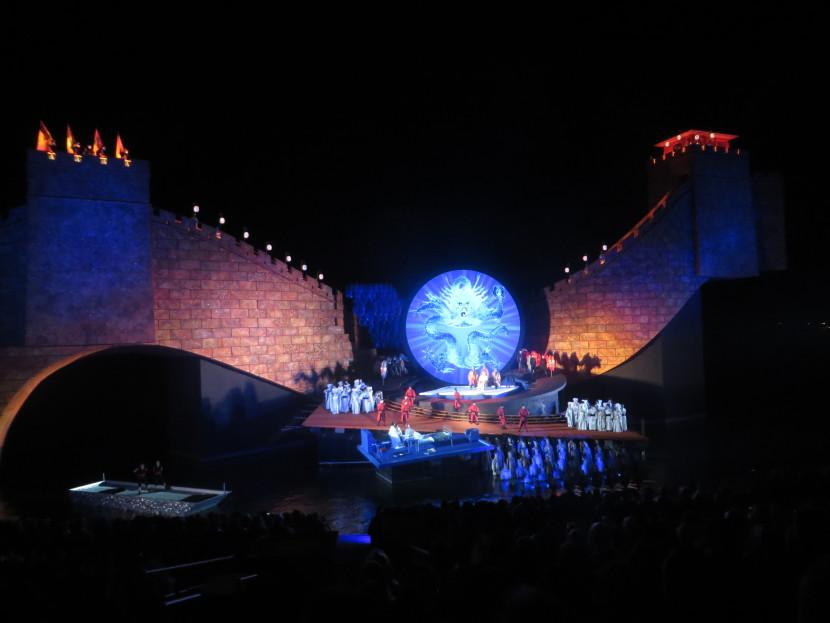 Turandot in Bregenz